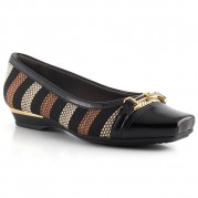 Embellished Loafer with Golden Ornament on the Heel