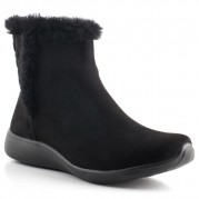 Short Boot with Synthetic Fur