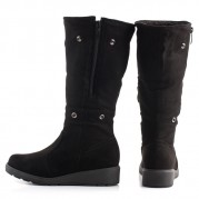 Long Boot 2 in 1 with Synthetic Fur