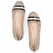 Ballet Flats with Pendant