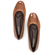 Ballet Flats with Elastane