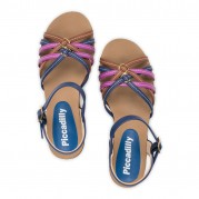 Flat Sandals Sandália High Anabela