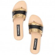 Slippers Wedges Flat