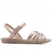 Flat Sandals with Braided Straps