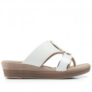 Embellished Wedge Flip-flops and Metalized Ornament