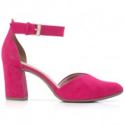 Bicolor High-heeled Sandals