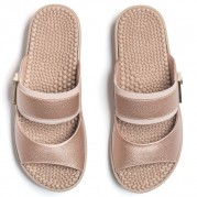 Embellished Wedge Clog with Elastane