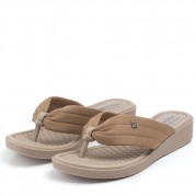 Wedge Flip-flops with Straps