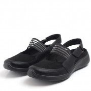 Sport sandals with Velcro Cut-out effect and Elastic