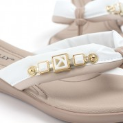 Flip-flops with Golden Ornament