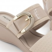 Buckle Wedge Clog
