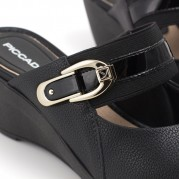 Embellished Wedge Clog