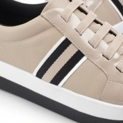 Wedge Sneakers with elastic shoelaces
